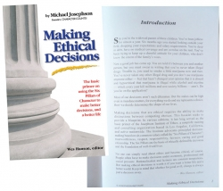 Making Ethical Decisions - partial ghostwriting, design, editing