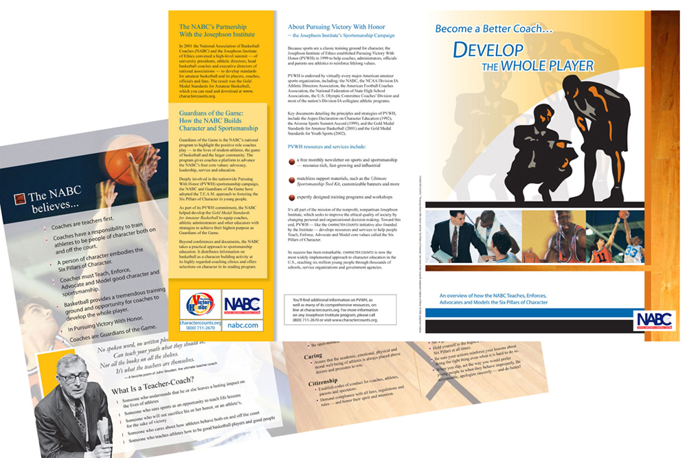 NABC brochure - copy writing