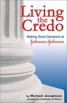 Johnson & Johnson decision-making booklet - editing, design